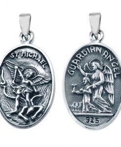 archangel-michael-pendant-sterling-silver-SV25-511